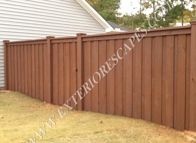 Charleston style fence best idea garden 2018 for Charleston style fence